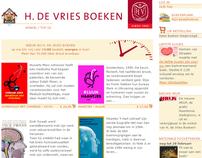 H. de Vries Boeken
