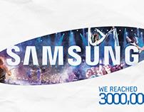 Samsung 3m Fans festival