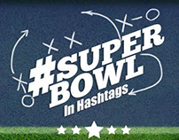 Super Bowl in Hashtags