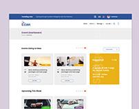 Event Dashboard UI Design