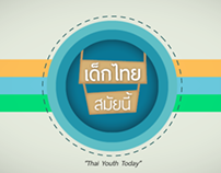 Thai Youth info-motion graphic