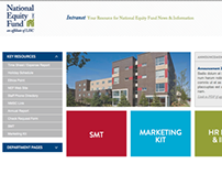 National Equity Fund Intranet Interface Design