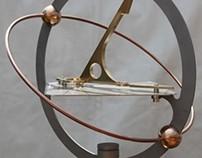 Orbdial armillary sundial