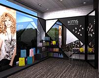 hair salon redesign X KMS