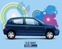 Campaña Gráfica Renault Clio