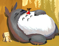My Neighbor Totoro: First Encounter. A fanart