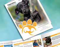 Peggy Adams Animal Rescue League Annual Report Brochure
