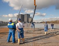 Dakpark  Rotterdam II, de bouw