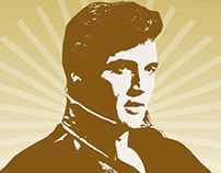 Freelance: Elvis Presley Party Invitations
