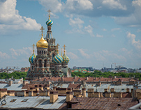 From A Rooftop | Saint Petersburg