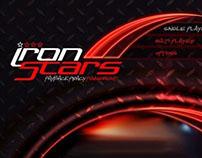Iron stars game menu concepts