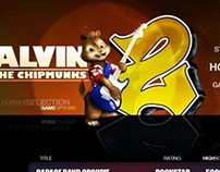 Alvin and the Chipmunks Rhythm Game UI