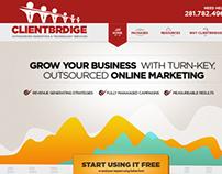 Online Marketing UI/UX Design
