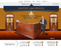 NewYork Injury Law Firm Homepage Design Concept