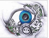 Mechanical Illustration, Computer Eye