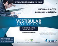 Campanha - VESTIBULAR AGENDADO FEITEP 2013