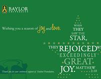Baylor Christmas Ecard
