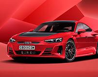 2021 Audi e-tron GT Black Line