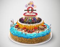 Ichnusa Cake