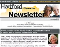 Email: ASU Hartford Center Bi-Annual E-Newsletter