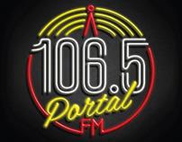 Logo Radio 106.5FM