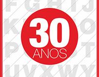 Helvetica Neue -30 Anos/ years