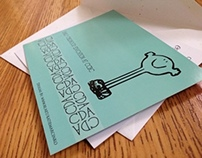 CDA Dinner Invitations and RSVP Postcard
