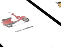 Vespa Print Ad