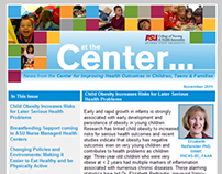 Email: ASU at the Center... Bi-Annual E-Newsletter