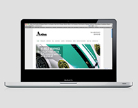 Website Design & Rebranding for ardonvinyl.com