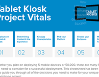 Infographic : Building Tablet Kiosks