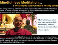 Email: Mindfulness Meditation Workshop
