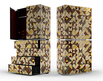 PIXEL ANODIZED Cabinet | Limited Edition