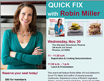 Email: Quick Fix with Robin Miller Event Invitation
