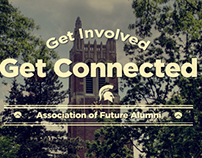 Get Involved - Get Connected | Web Graphic