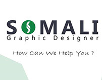 Cover Book Of Somali Graphic Designer.