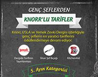 Genç Şeflerden Knorr'lu Tarifler