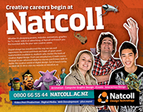 Design work from 2009/2010 Natcoll campaign