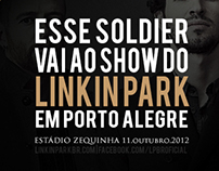 Material para Facebook do site www.linkinparkbr.com