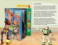 Livro Toy Story 3