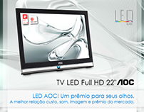 """AOC - Tv Led Full HD 22"""""""