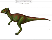 Dinosaurs Coloring Job