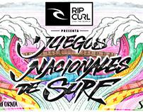 Juegos Nacionales de Surf 2013