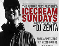 Future Arts Poster: ICECREAM SUNDAYS