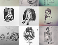 Quick Sketches / 2012-2013