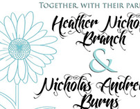 Branch Wedding Inviations