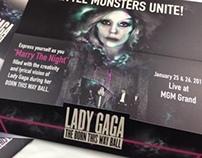 Lady Gaga Invitaiton