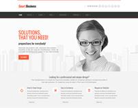 SmartBusiness - Responsive Multi-Purpose WordPress