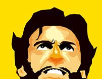 Wolverine Miminalist Poster