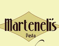 Marteneli's Pasta Packaging.